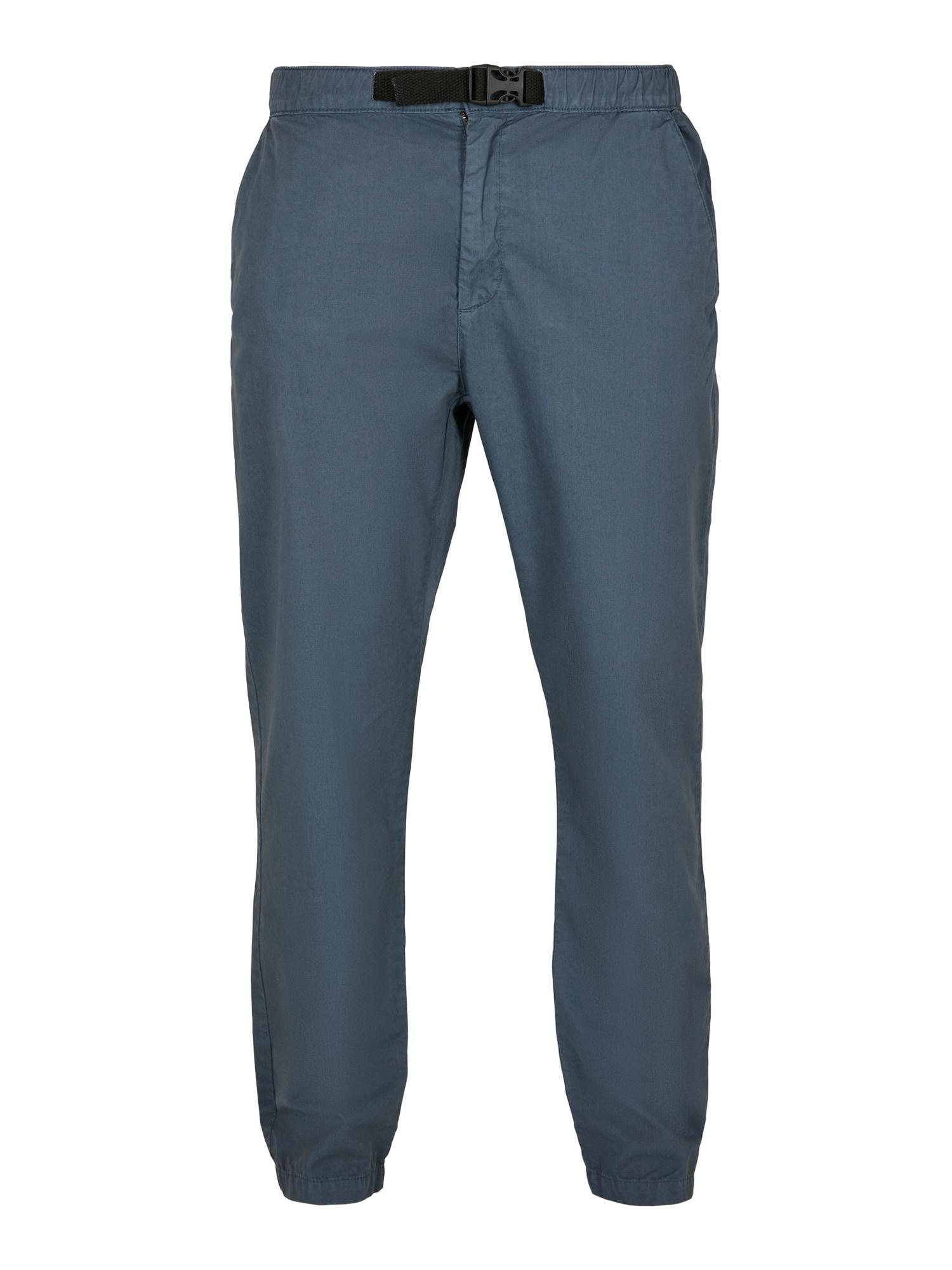 Urban Classics Pantaloni eleganți  albastru