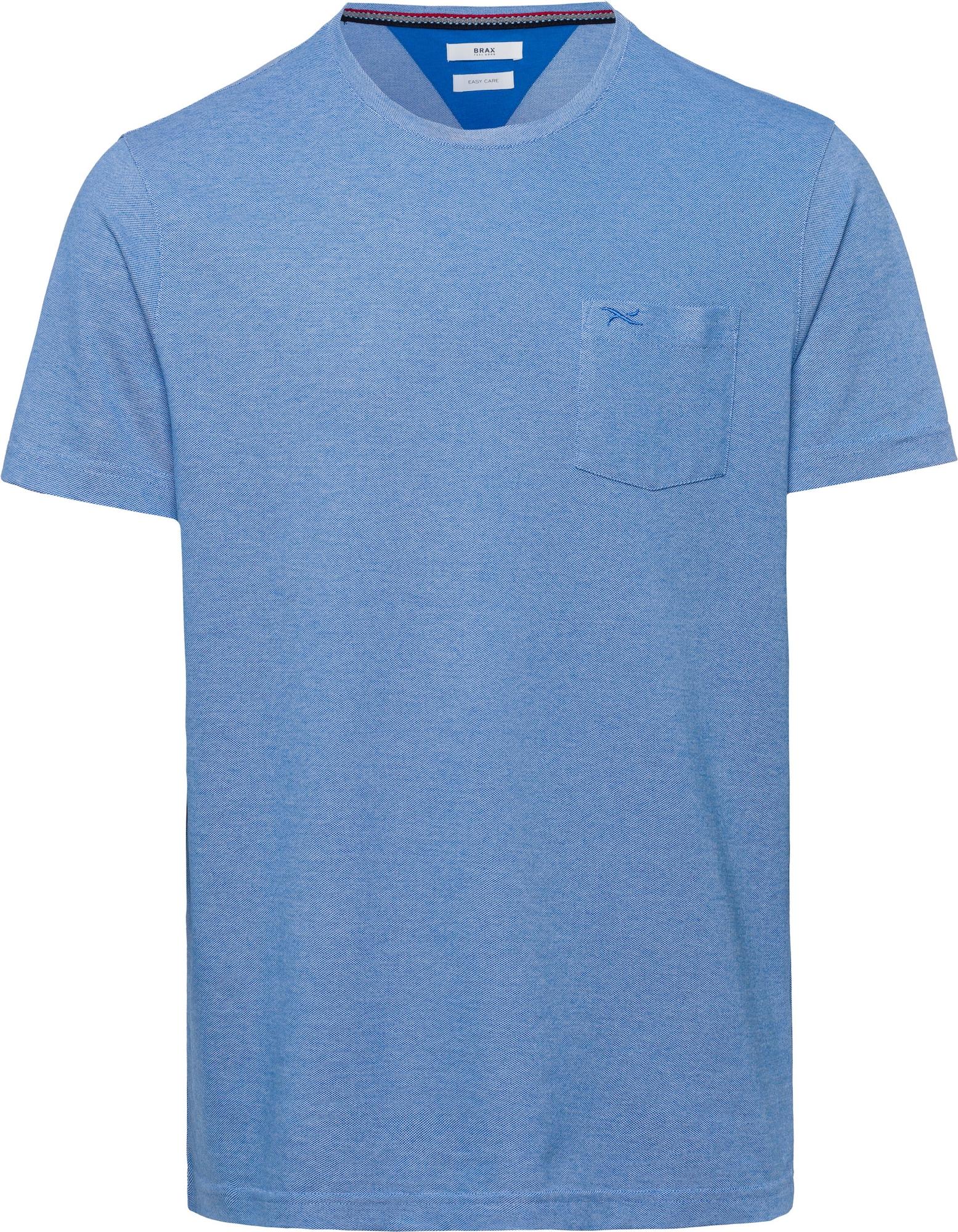 BRAX Marškinėliai 'Todd' melsvai pilka