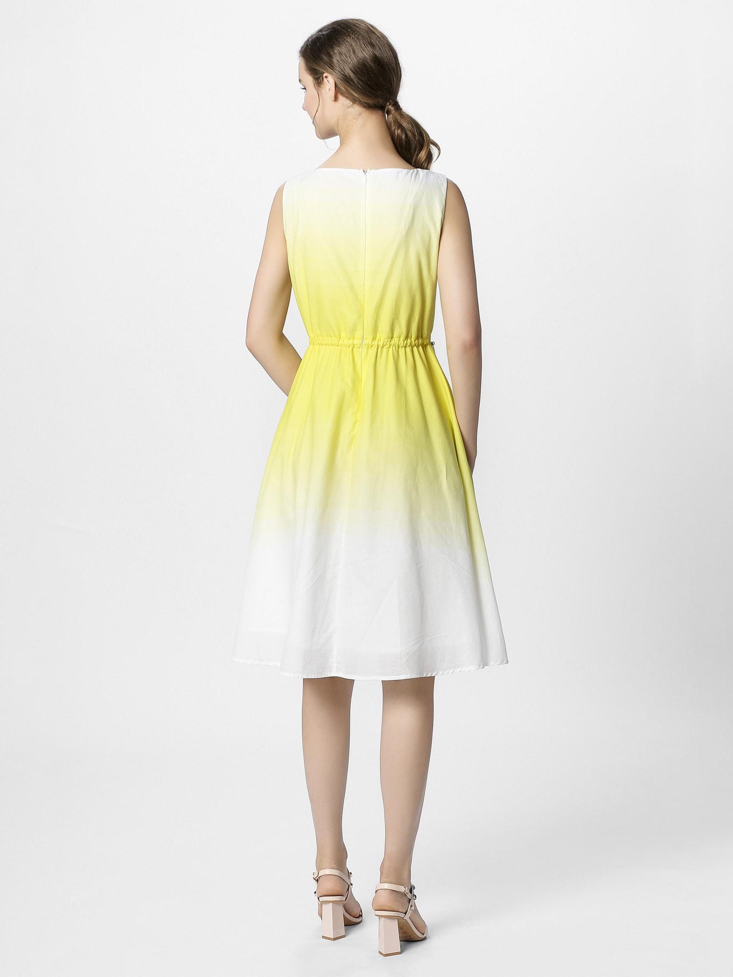 apart - Sommerkleid mit Dip-Dye-Effekt
