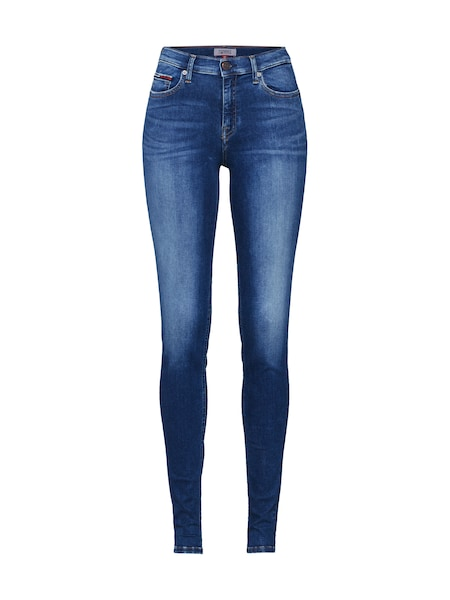 Hosen - Jeans 'MID RISE SKINNY NORA ORGM' › Tommy Jeans › blue denim  - Onlineshop ABOUT YOU