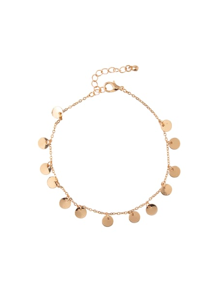 Armbaender für Frauen - Armband 'Coin Multi Charm Anklet' › Orelia › gold  - Onlineshop ABOUT YOU