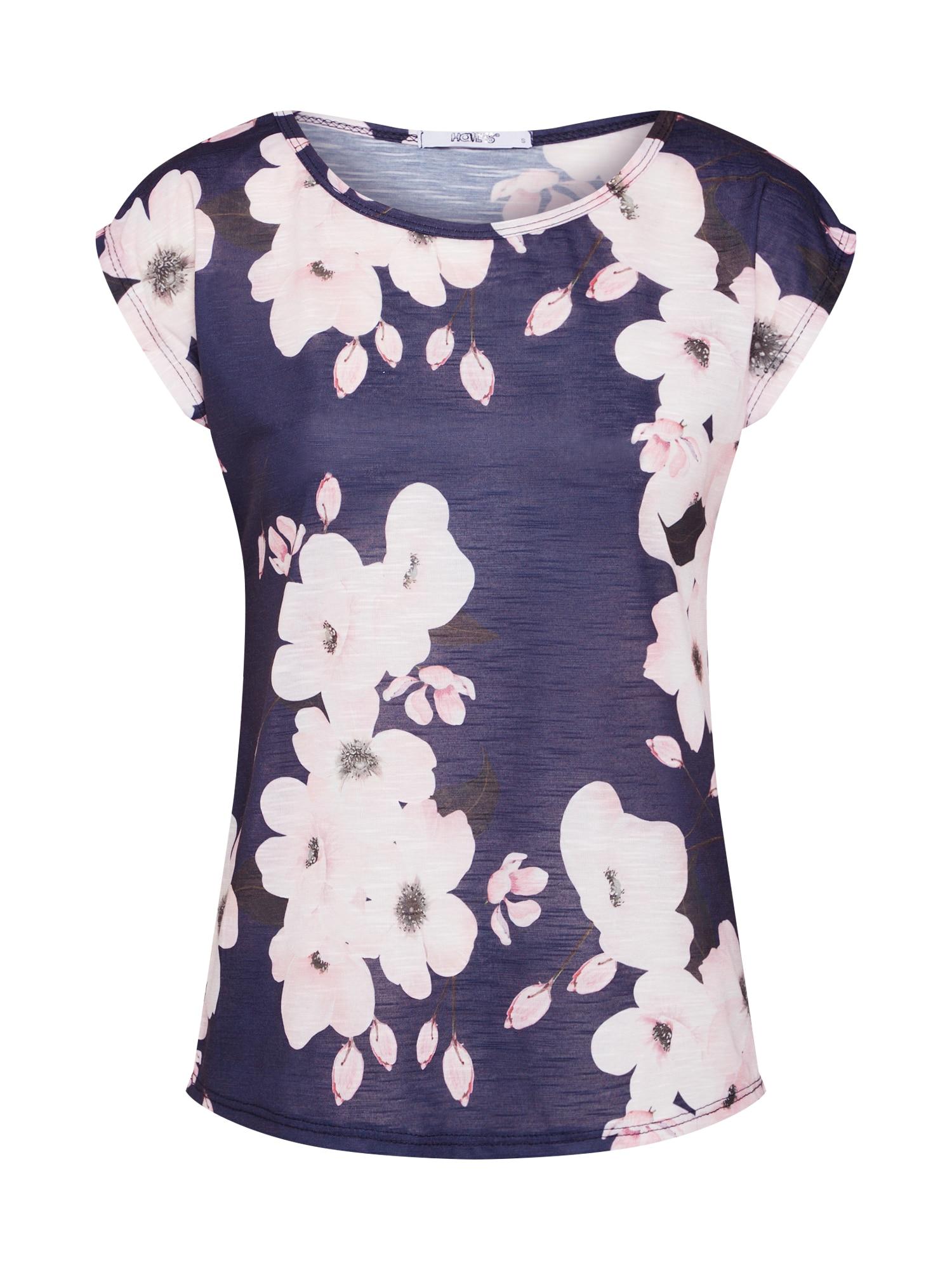 Tričko Jana námořnická modř růžová Hailys
