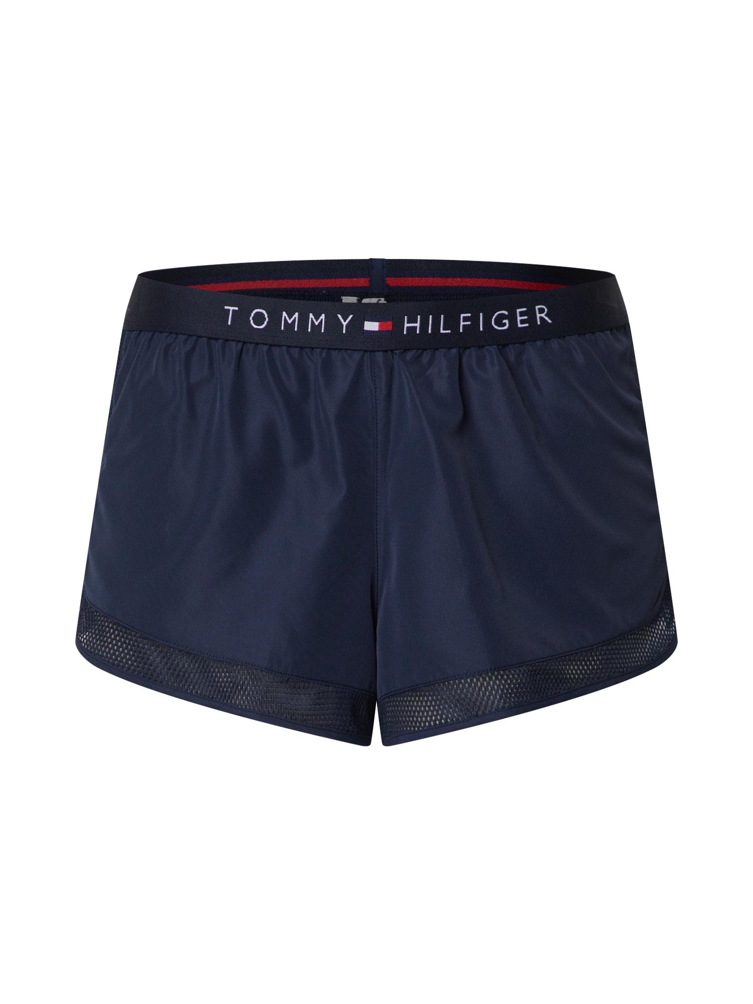 Tommy Hilfiger Underwear Pižaminės kelnės 'LIGHTWEIGHT RUNNER' mėlyna