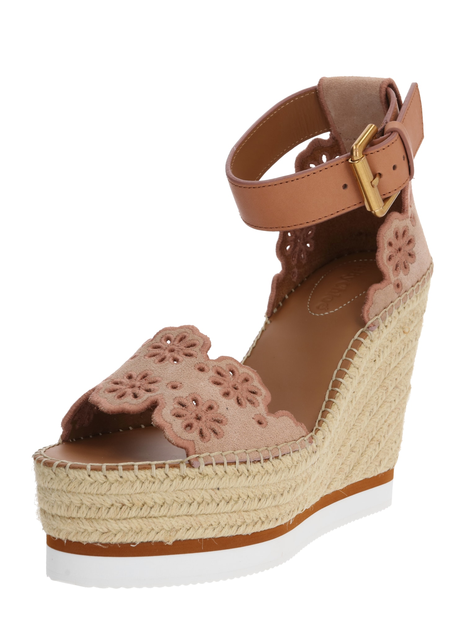 See by Chloé Páskové sandály  hnědá / béžová
