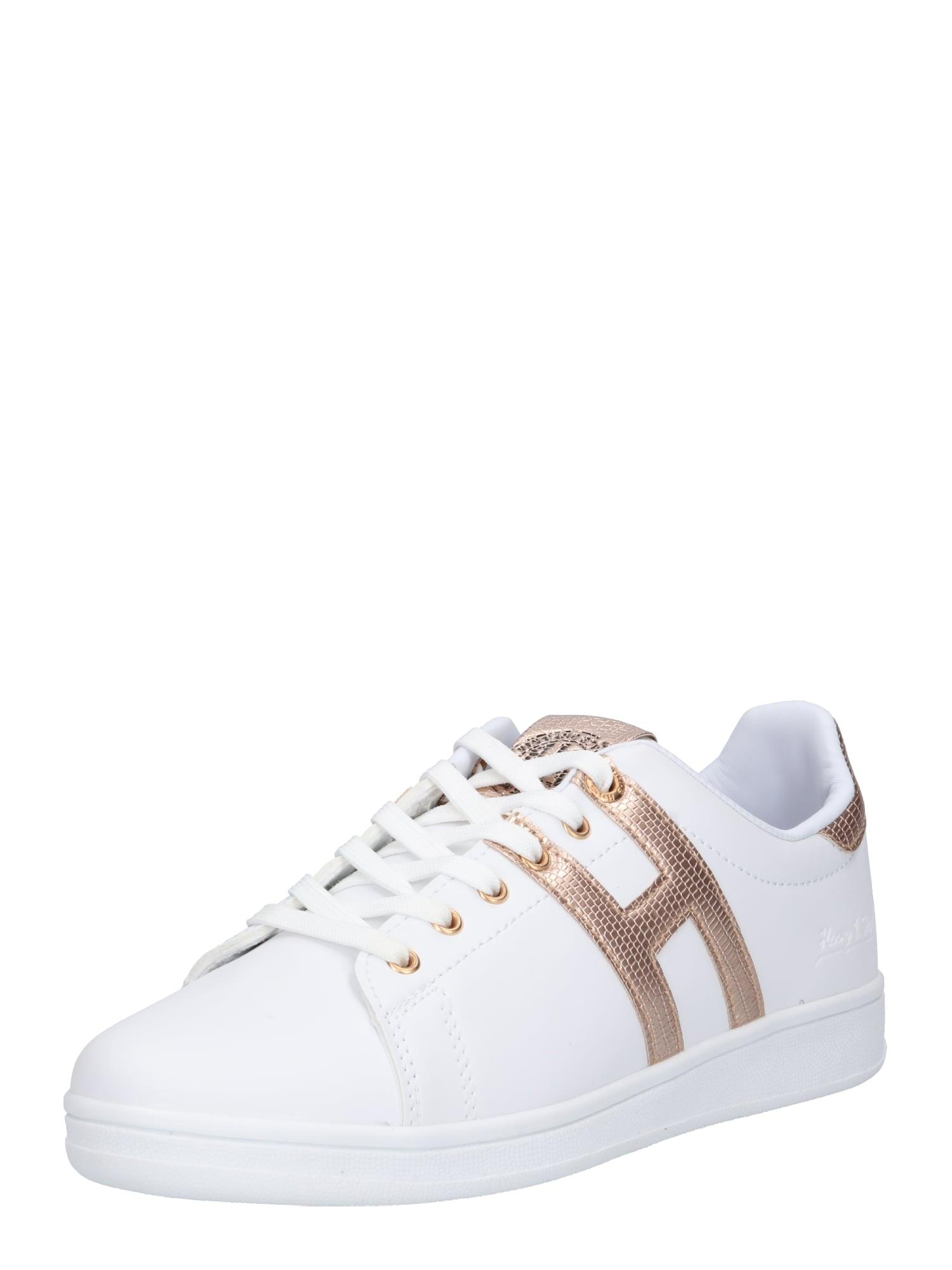 Tenisky zlatá bílá H.I.S