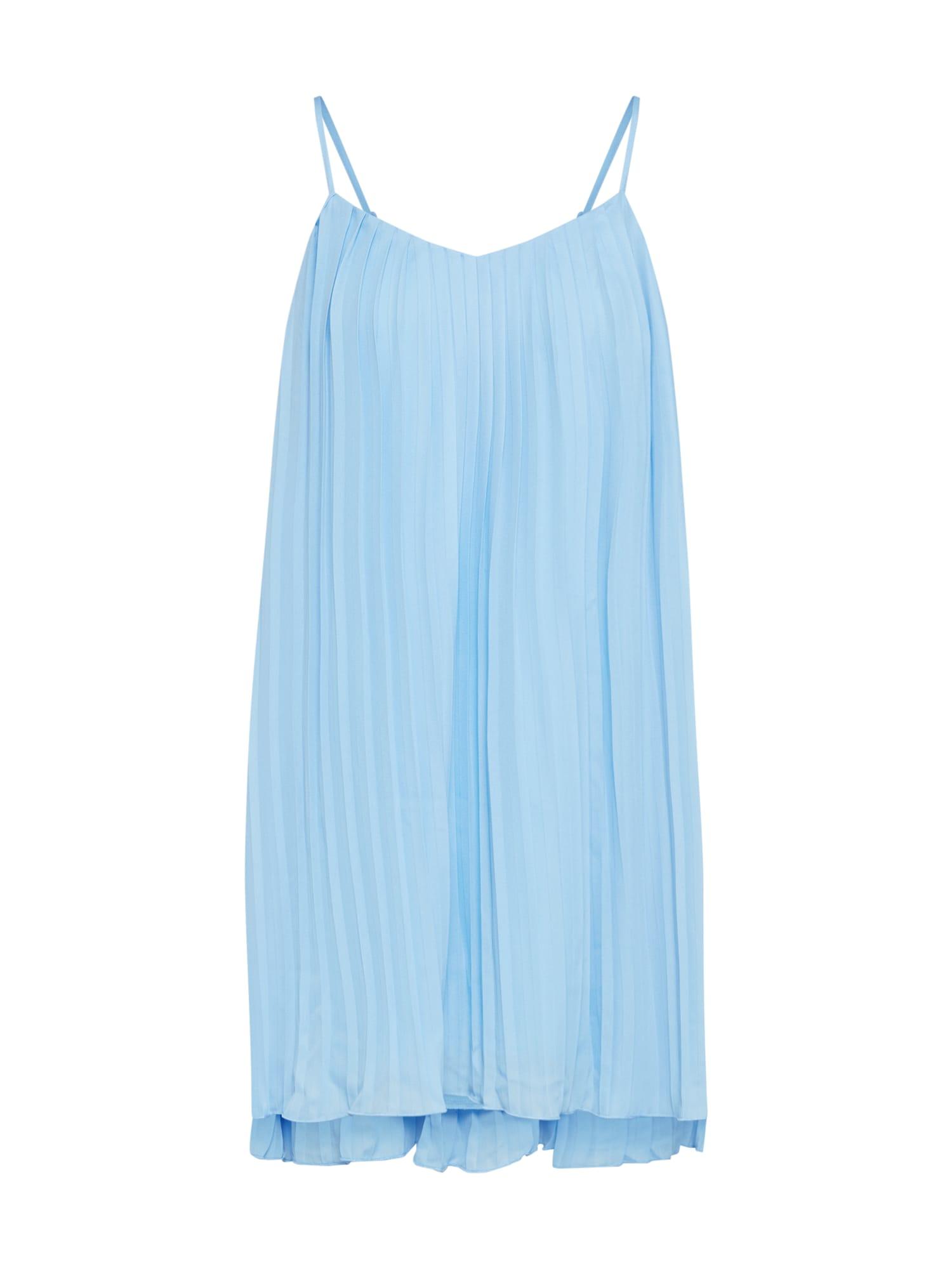 Missguided Rochie de vară  albastru deschis