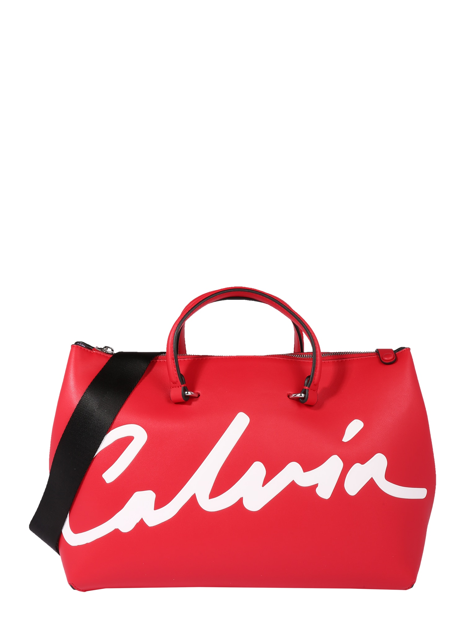 Calvin Klein Jeans Savaitgalio krepšys raudona