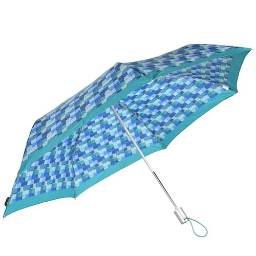 Regenschirme für Frauen - SAMSONITE Accessoires Taschenschirm 26 cm blau aqua  - Onlineshop ABOUT YOU
