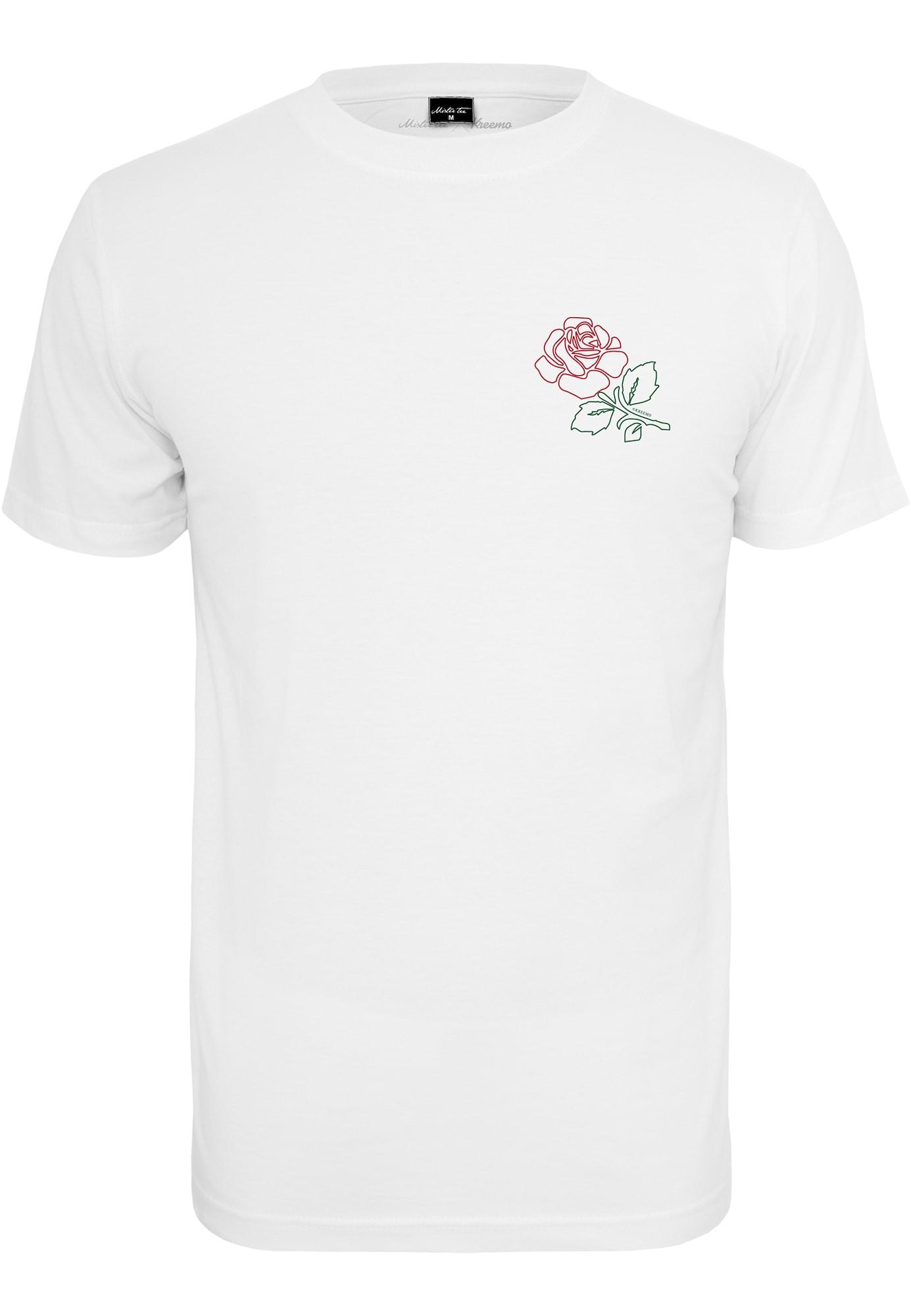 Mister Tee Marškinėliai balta / vyšninė spalva / žalia