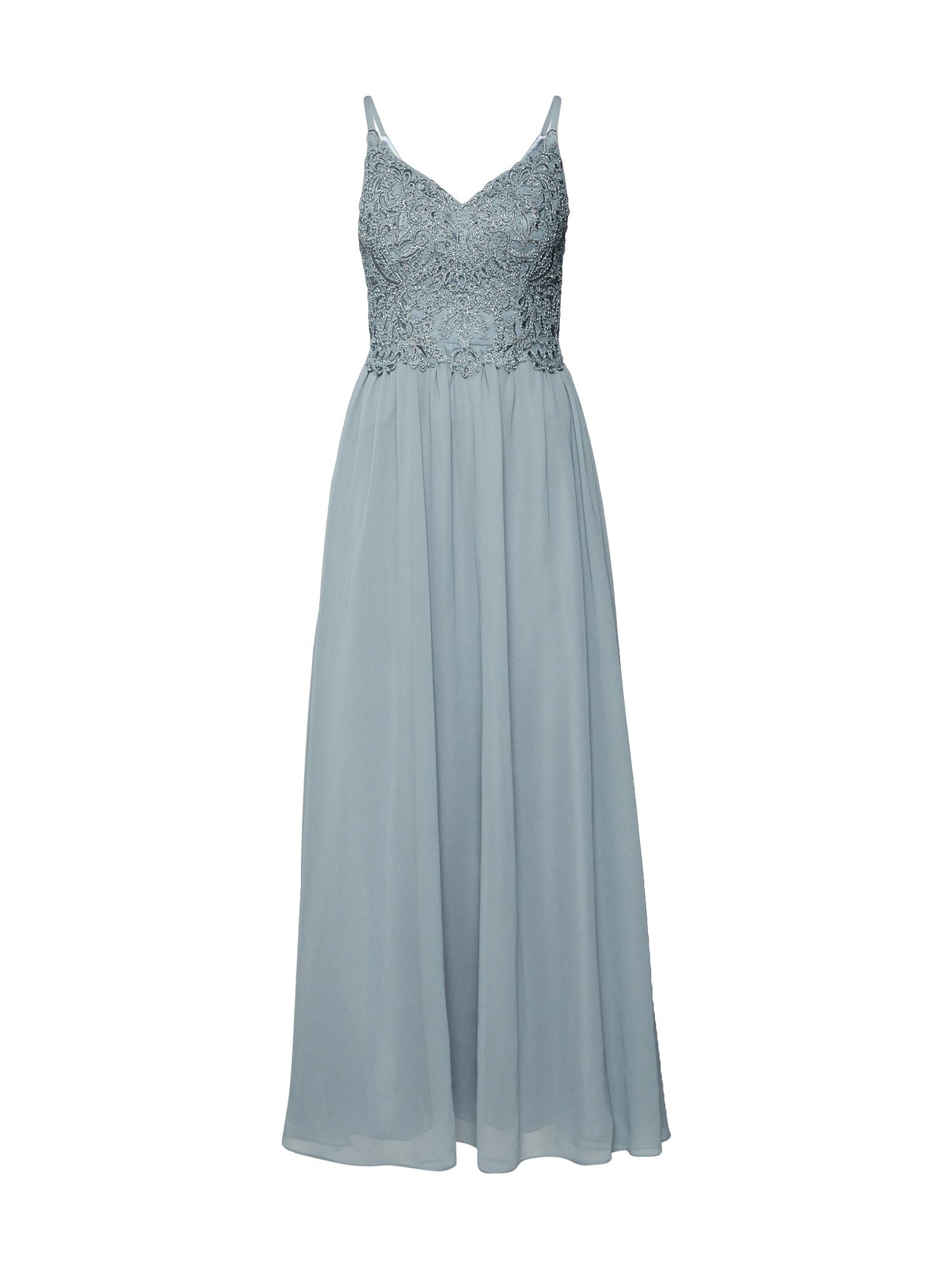 Laona Vakarinė suknelė pastelinė žalia
