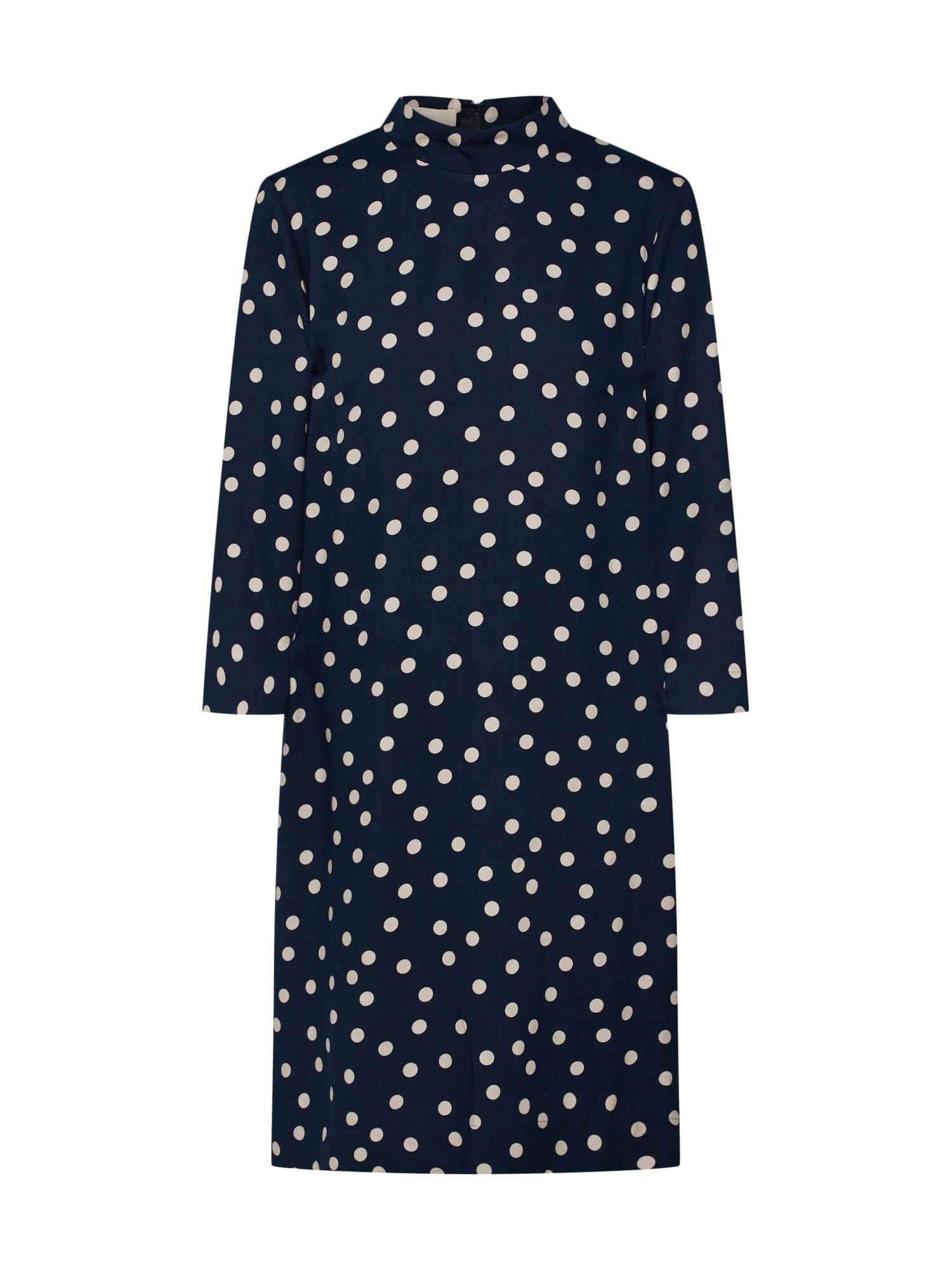Šaty béžová tmavě modrá Talkabout