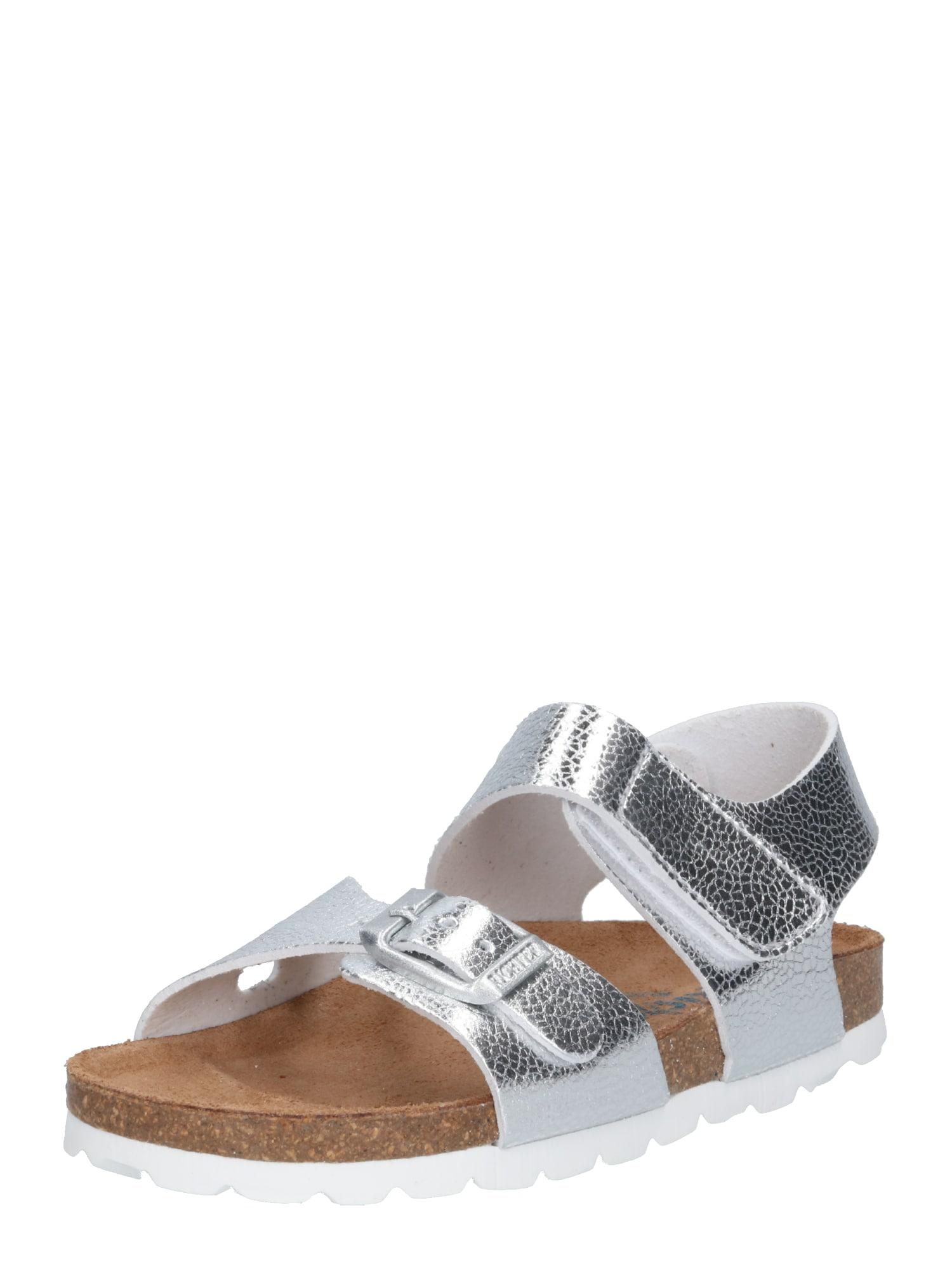 Sandály stříbrná RICHTER