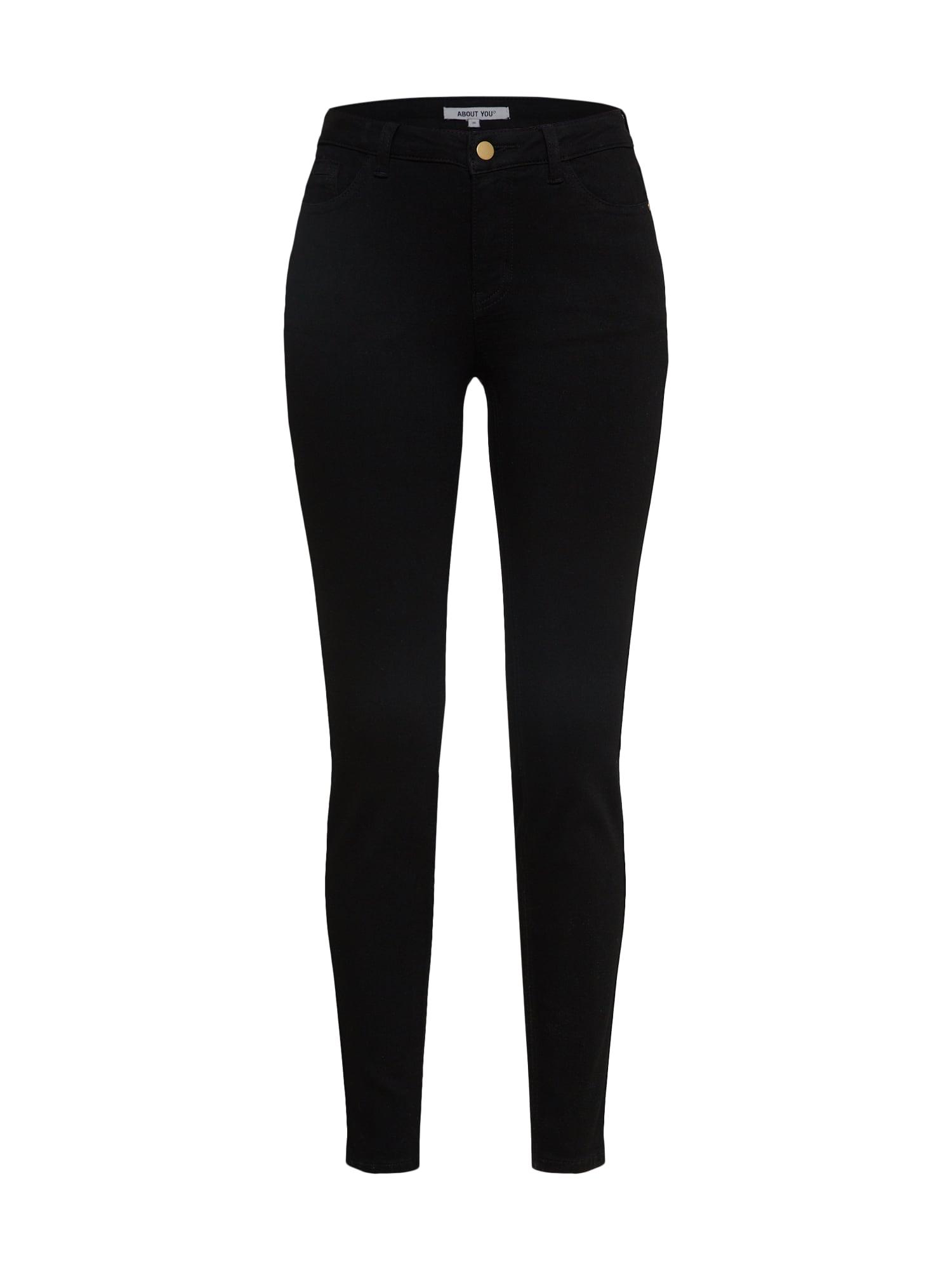 ABOUT YOU Džinsai 'Kira Jeans' juodo džinso spalva