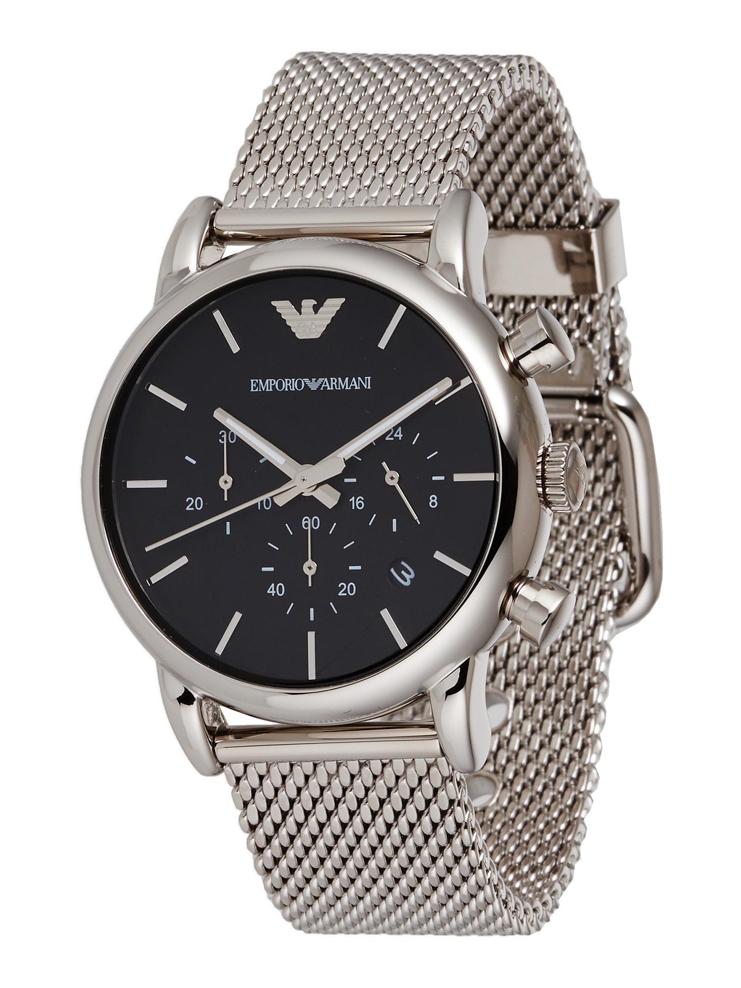 Emporio Armani Analoginis (įprasto dizaino) laikrodis 'AR1811' sidabrinė