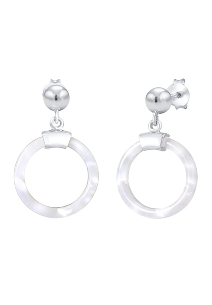 Ohrringe für Frauen - ELLI Ohrringe 'Geo' silber  - Onlineshop ABOUT YOU