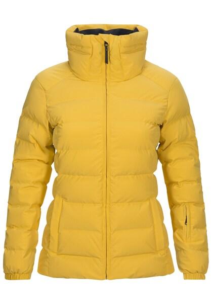 Jacken für Frauen - PEAK PERFORMANCE Outdoorjacke 'Megeve' gelb  - Onlineshop ABOUT YOU