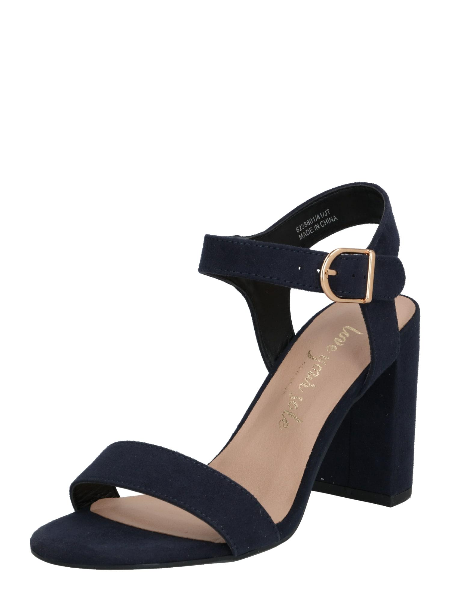 NEW LOOK Remienkové sandále 'VIMS 4'  zlatá / modré