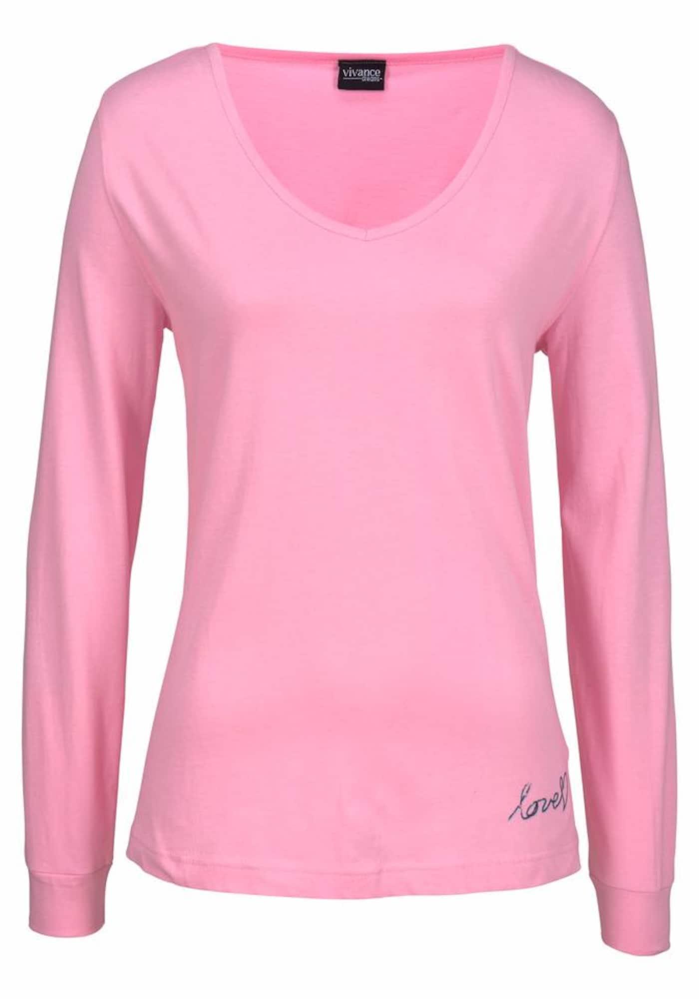 VIVANCE Tričko na spaní  pink