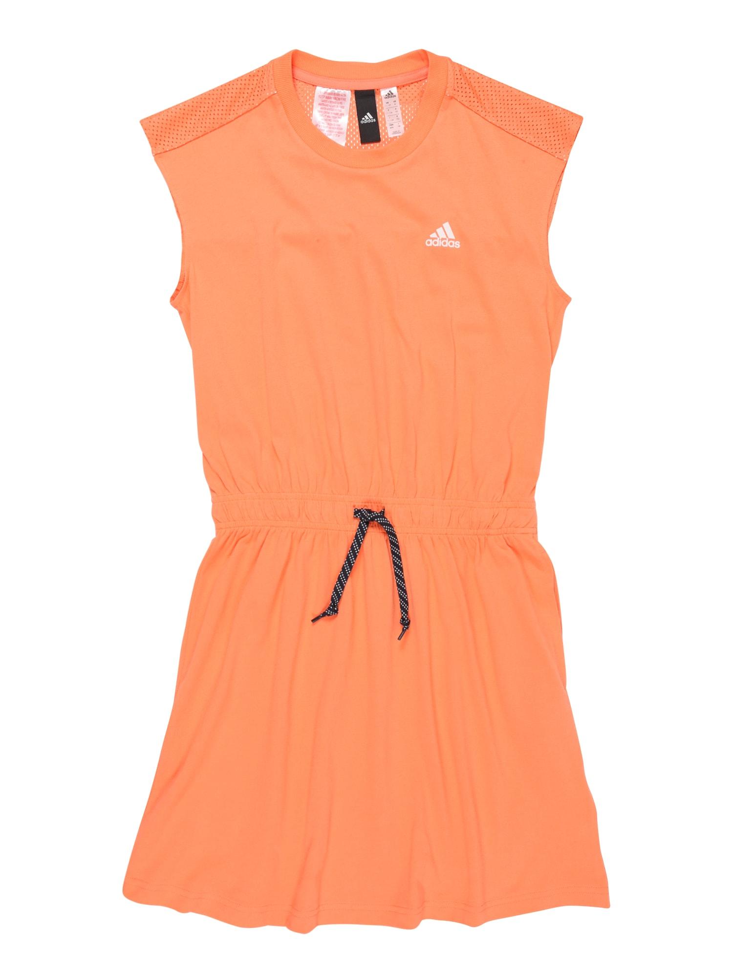 ADIDAS PERFORMANCE Šaty  oranžová