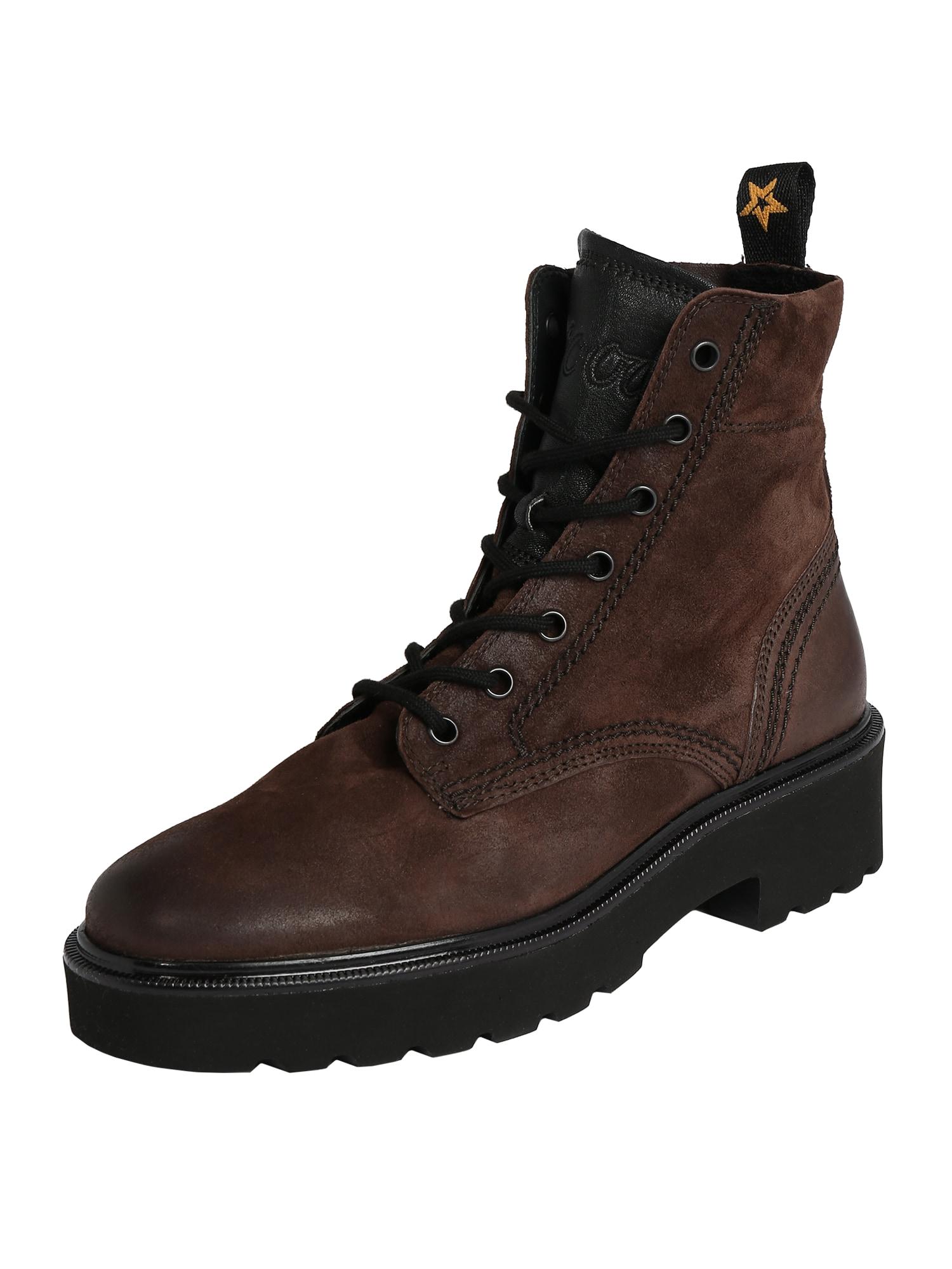 Paul Green Suvarstomieji kulkšnis dengiantys batai ruda