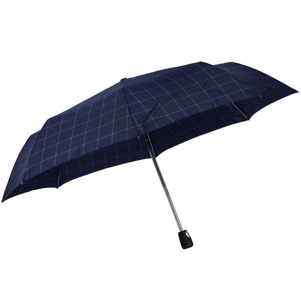 Regenschirme für Frauen - ESPRIT Gents Mini Tecmatic Taschenschirm 28 cm blau grau  - Onlineshop ABOUT YOU