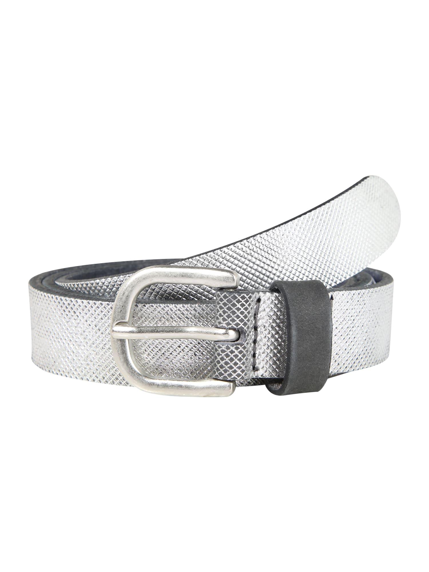 ESPRIT Diržas 'EmbossedBelt' sidabro pilka
