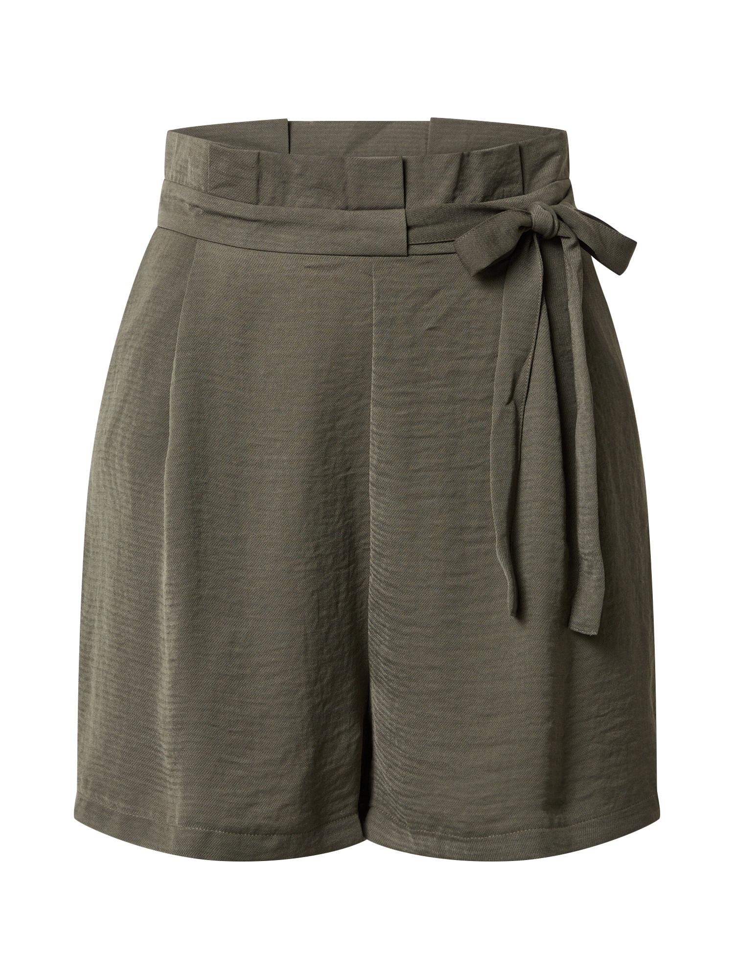 ONLY Plisované nohavice 'ONLAMANDA'  zelená
