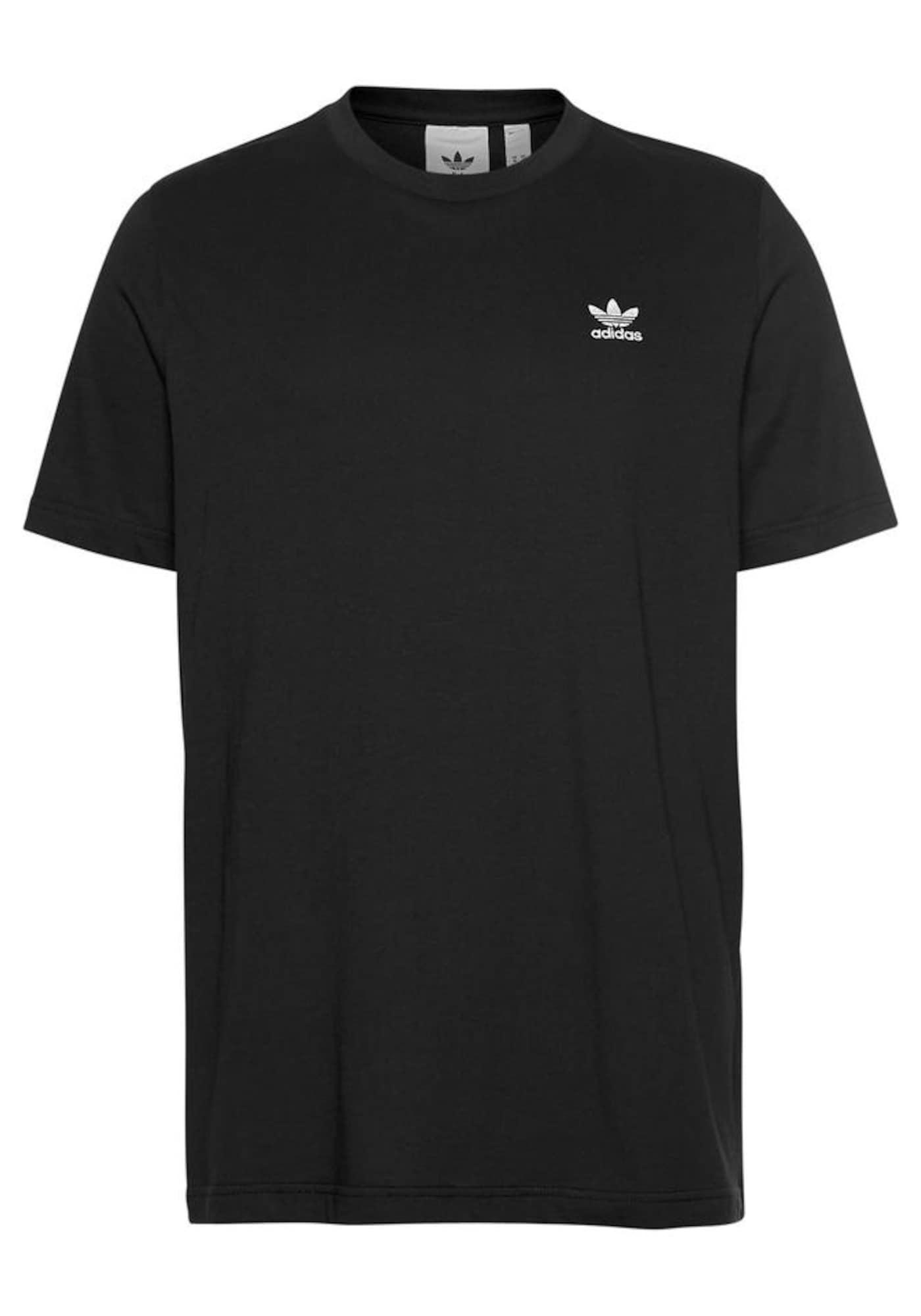 ADIDAS ORIGINALS Marškinėliai 'Essential' balta / juoda