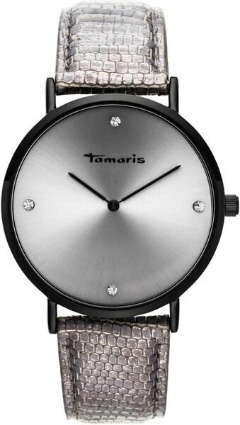 Uhren - Uhr › tamaris › taupe schwarz silber  - Onlineshop ABOUT YOU