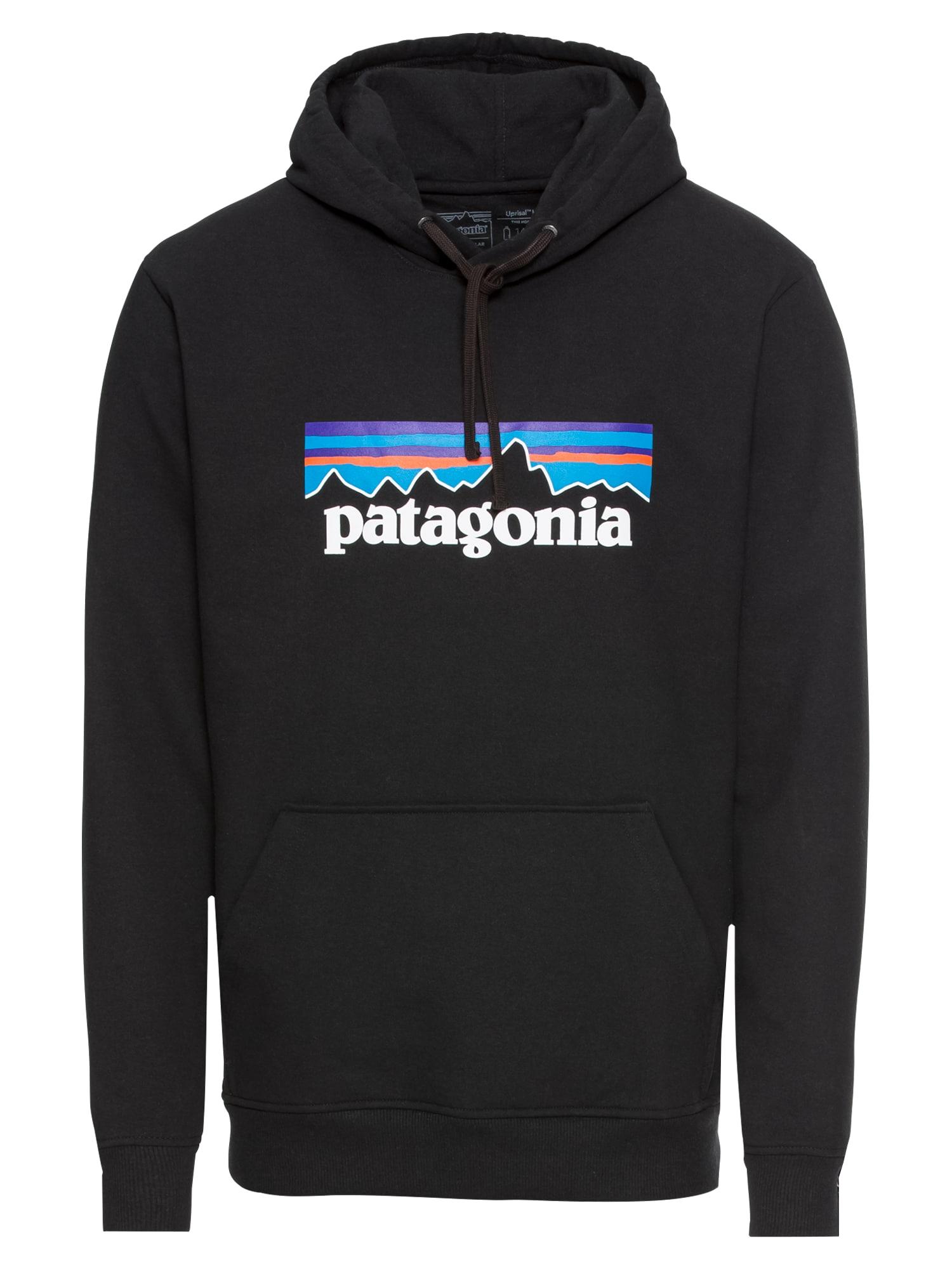 Mikina Ms P-6 Logo Uprisal modrá černá bílá PATAGONIA