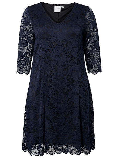Festtagsmode - Spitzenkleid › Junarose › navy  - Onlineshop ABOUT YOU