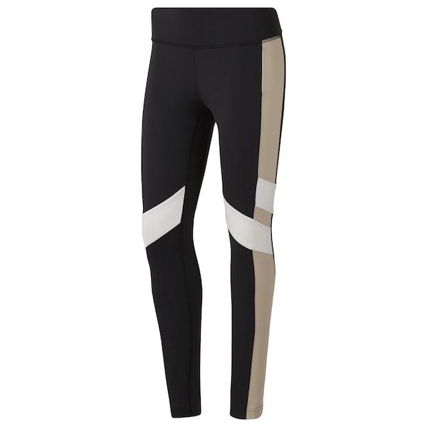 Sportmode für Frauen - REEBOK Sporthose schwarz weiß  - Onlineshop ABOUT YOU