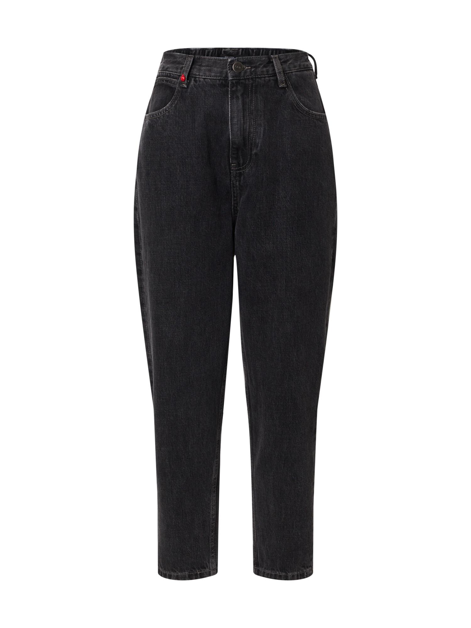 F.A.M. Džinsai juodo džinso spalva
