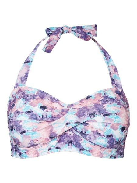 Bademode - Bikini Top › Junarose › lila rosa blau  - Onlineshop ABOUT YOU