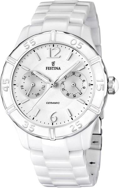Uhren für Frauen - FESTINA Multifunktionsuhr 'Trend F16622 1' weiß  - Onlineshop ABOUT YOU