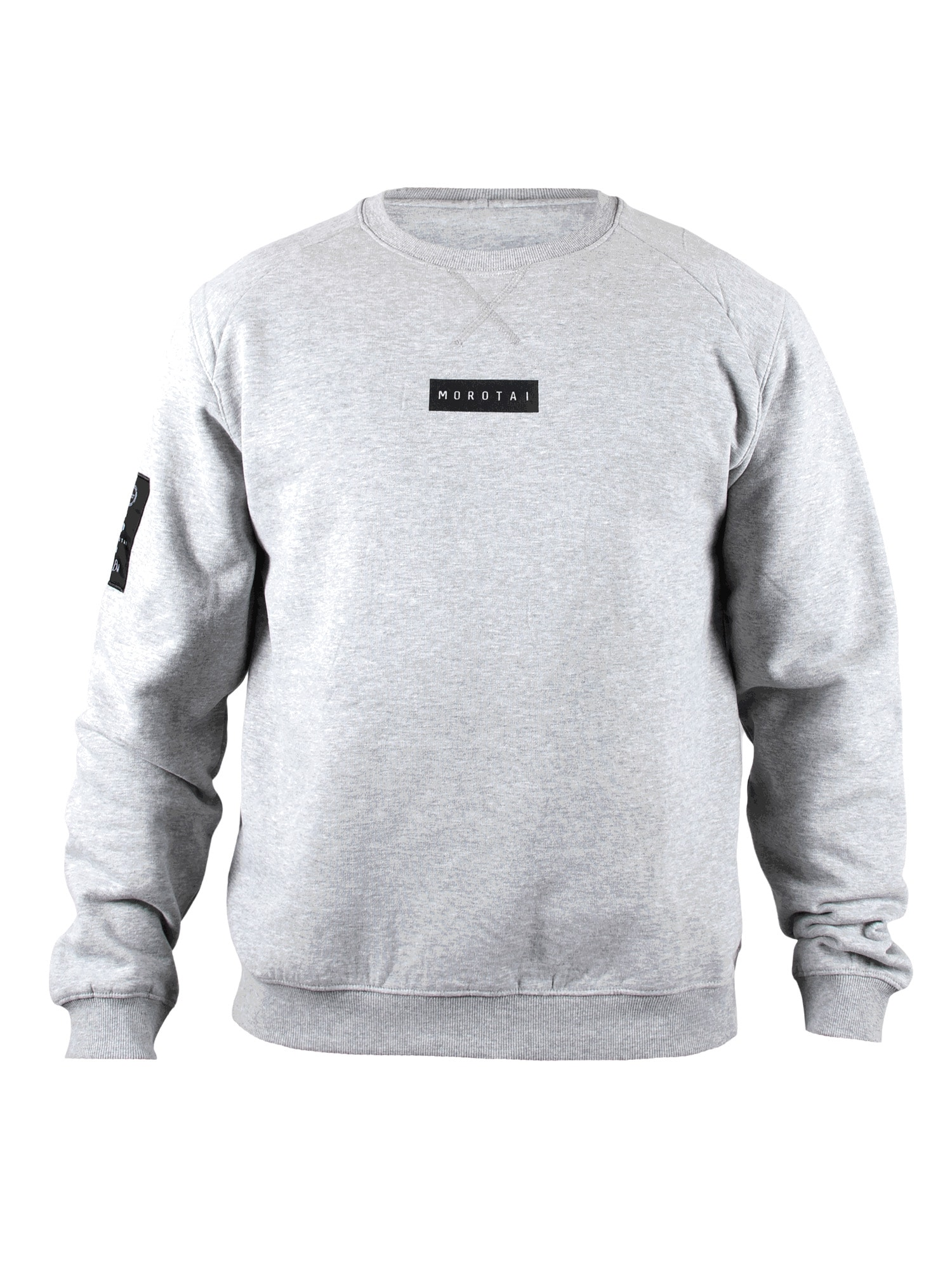 MOROTAI Sportinio tipo megztinis ' Small Bloc Logo Sweatshirt ' pilka