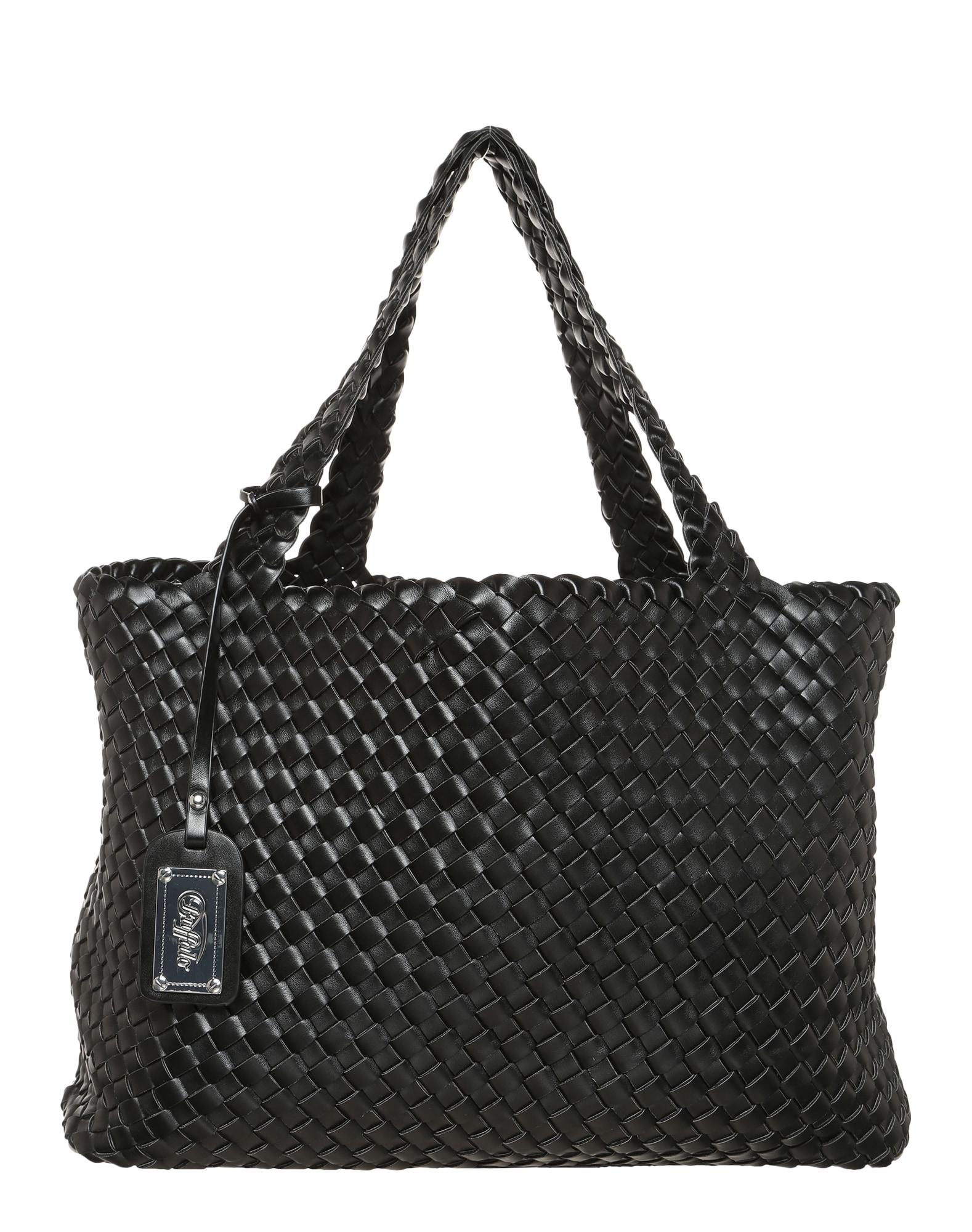 BUFFALO Pirkinių krepšys juoda