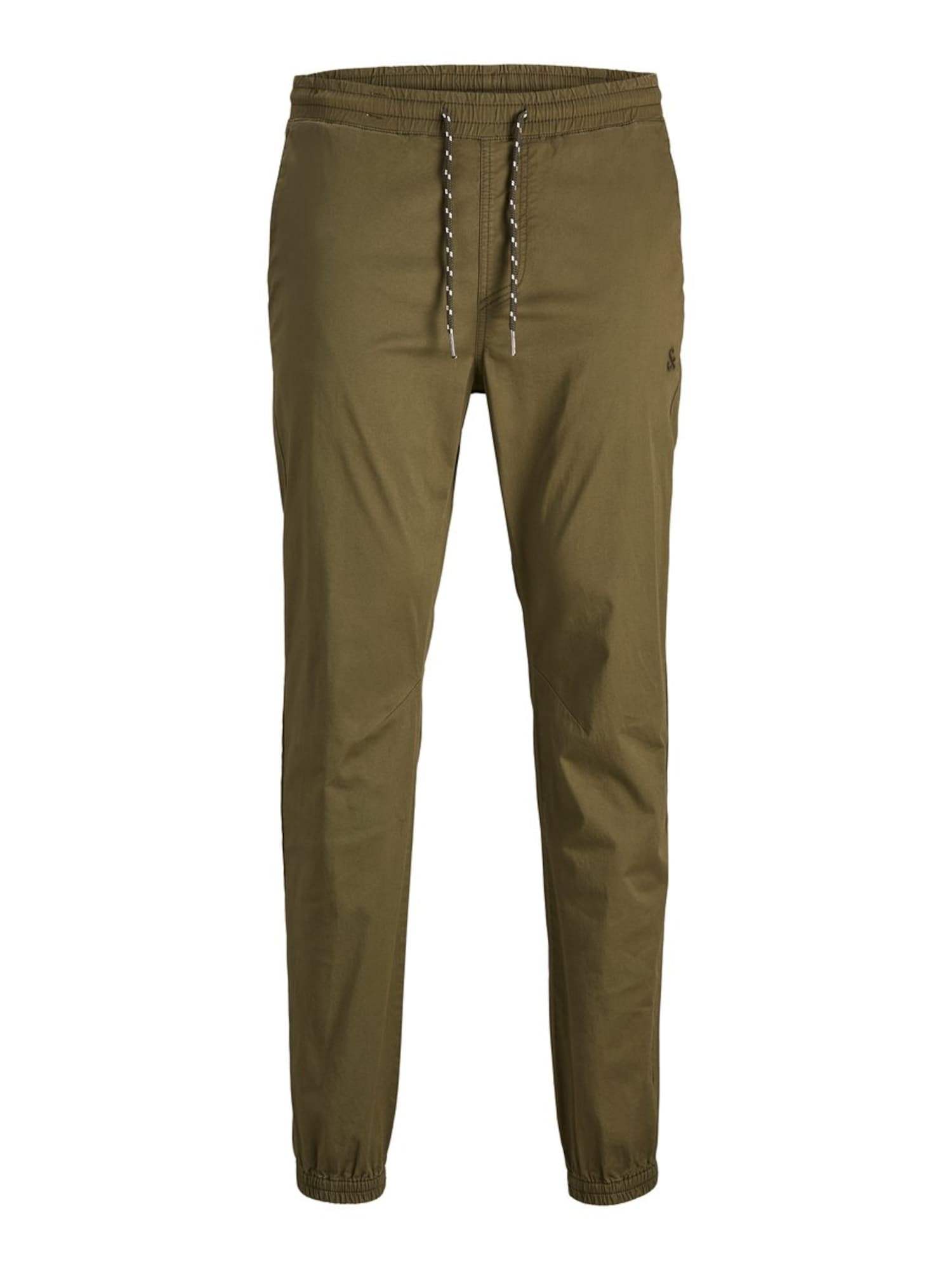 JACK & JONES Kalhoty  olivová