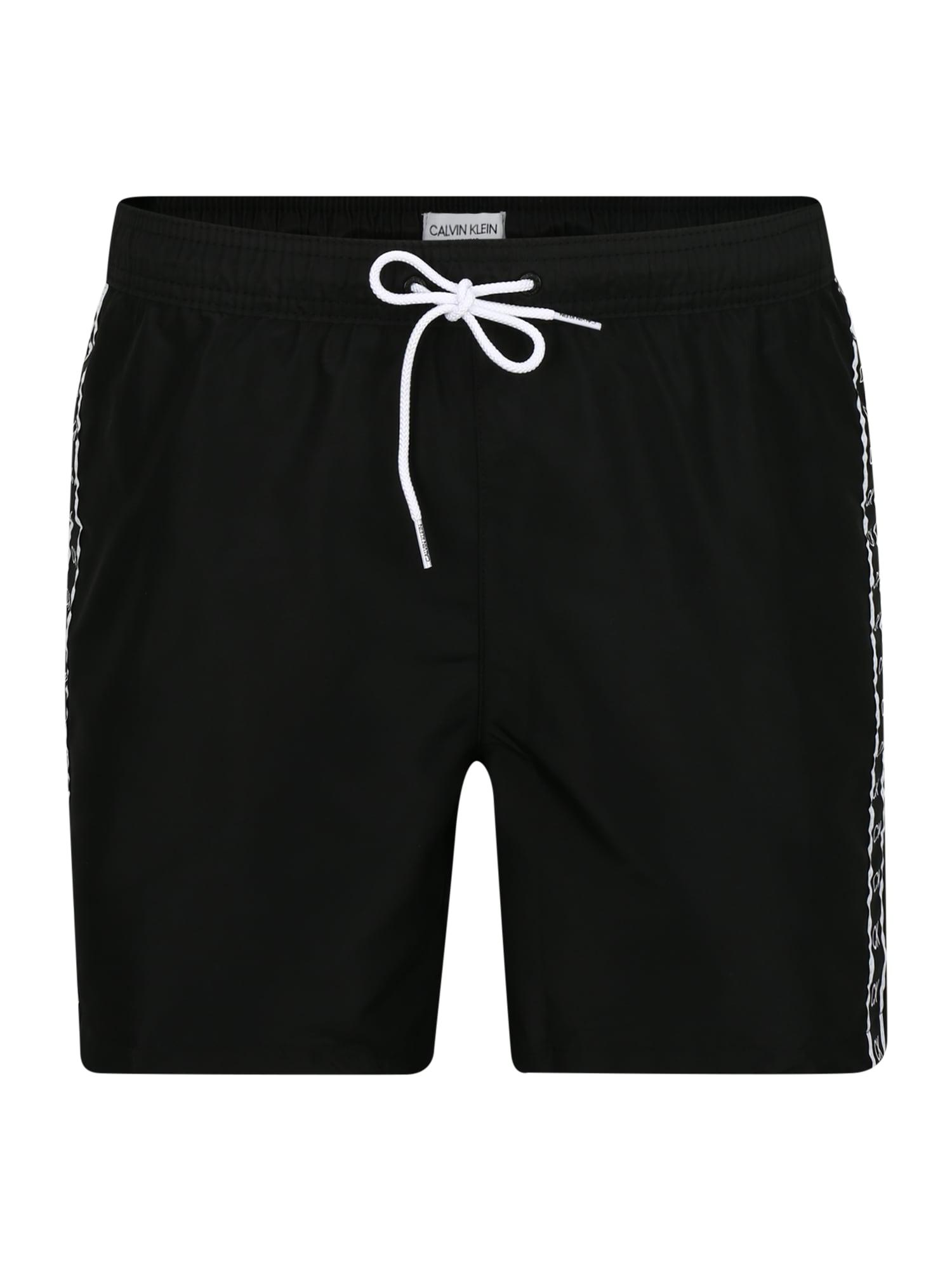 Calvin Klein Maudymosi trumpikės juoda