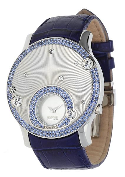 Uhren für Frauen - ESPRIT Armbanduhr Galene EL101632F03 blau silber  - Onlineshop ABOUT YOU