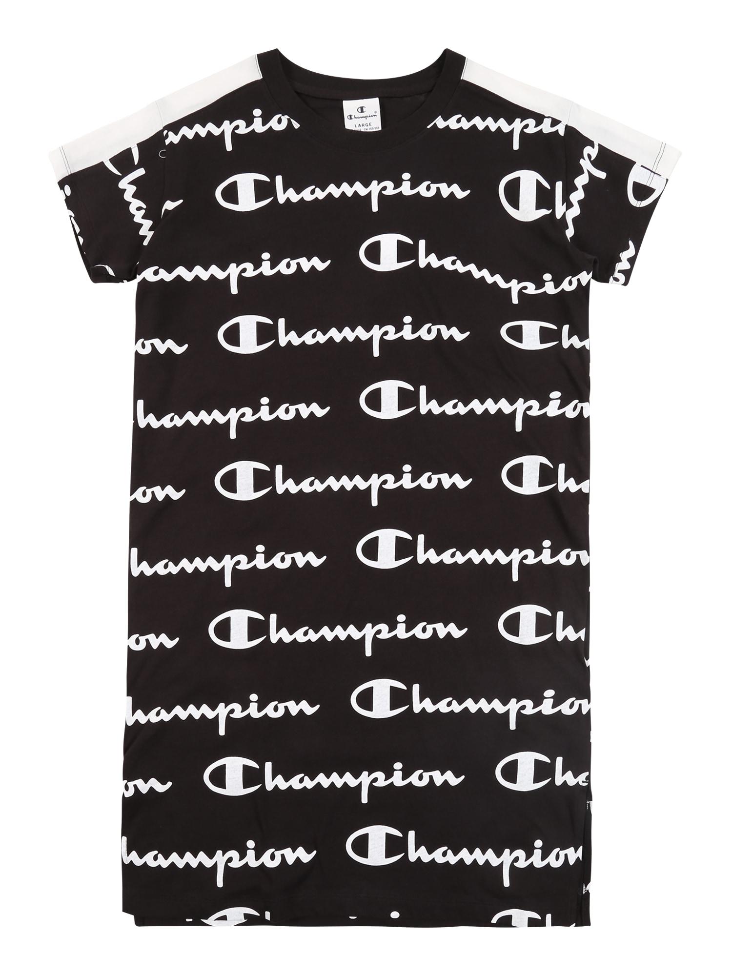 Champion Authentic Athletic Apparel Suknelė 'DRESS' juoda
