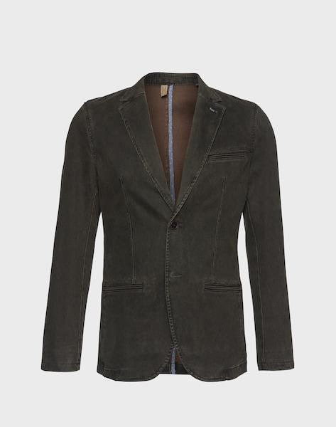 tom tailor casual sakko 39 pigment blotch bedford blazer 39 in braun about you. Black Bedroom Furniture Sets. Home Design Ideas