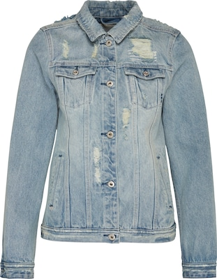 SCOTCH & SODA Jeansjacke mit Destroyed Elementen