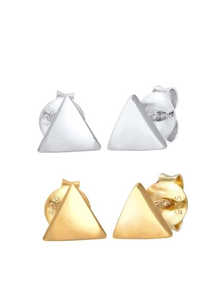 Ohrringe für Frauen - Ohrringe › ELLI › gold silber  - Onlineshop ABOUT YOU