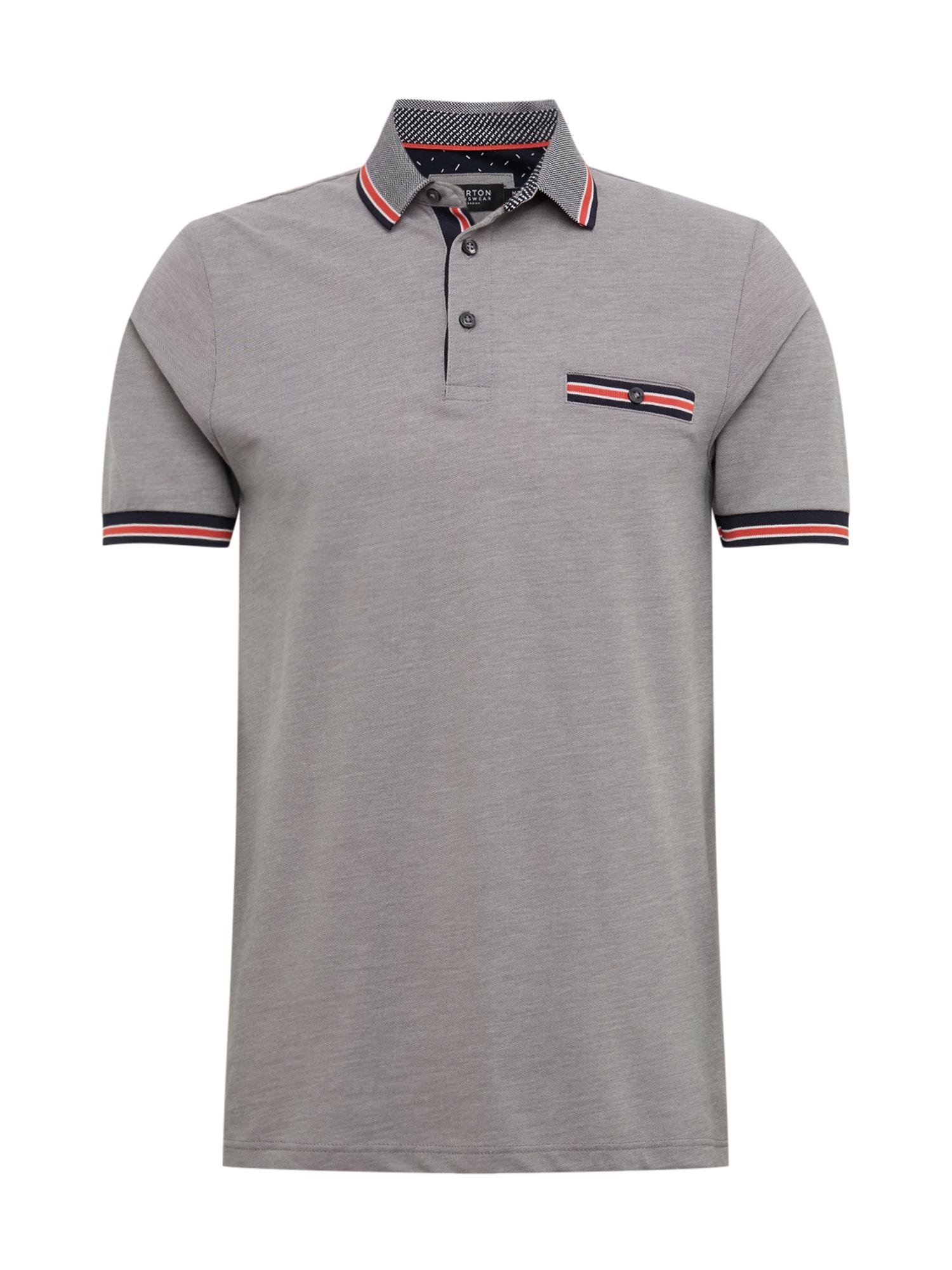 BURTON MENSWEAR LONDON Marškinėliai pilka