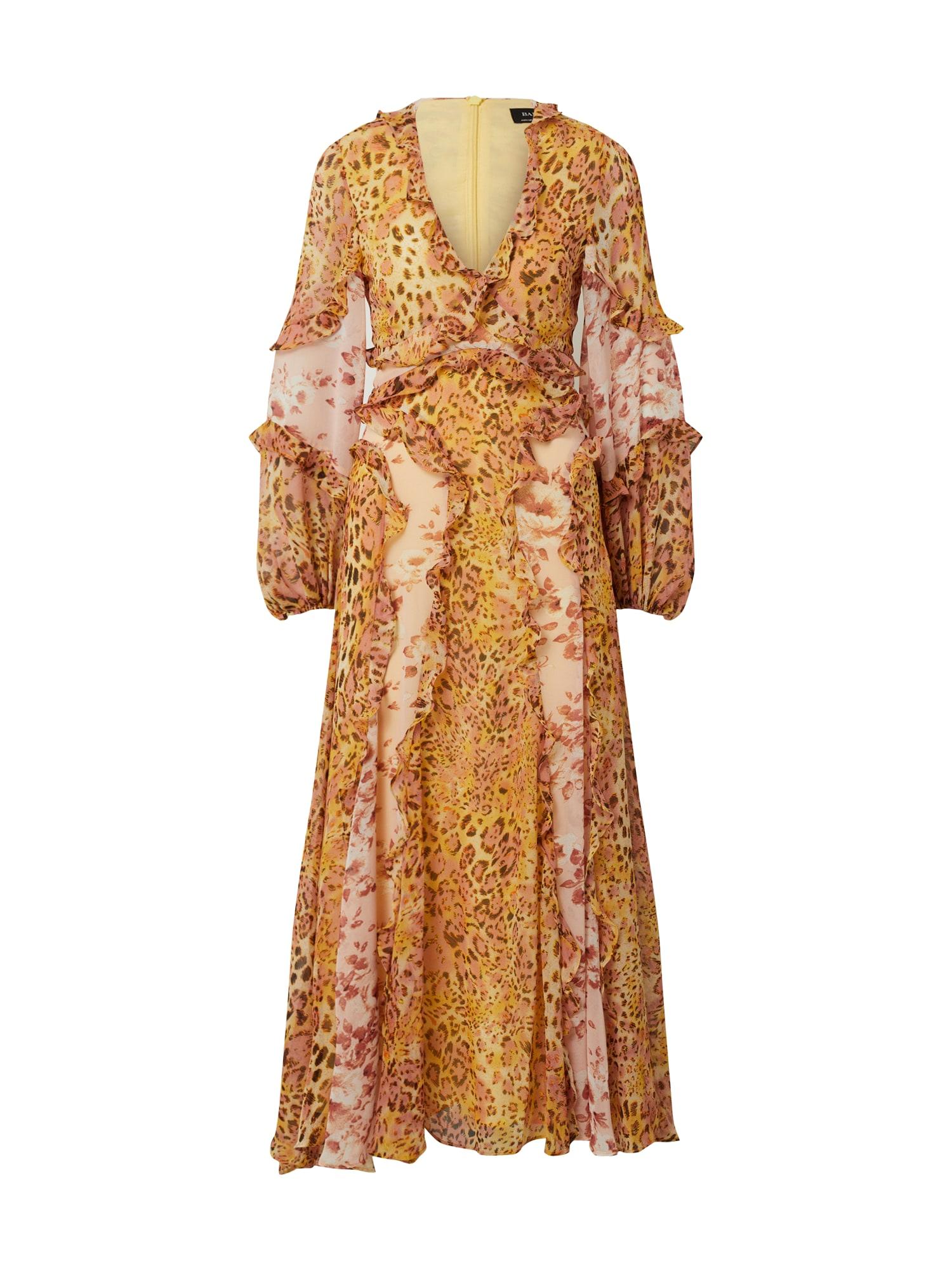 Bardot Suknelė geltona