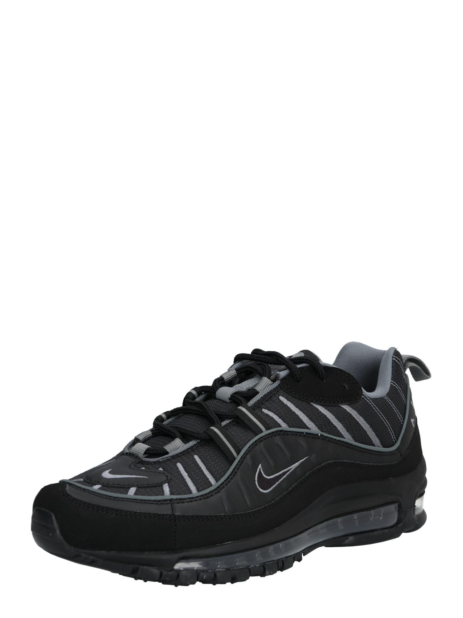 Nike Sportswear Sportbačiai be auliuko 'Air Max 98' juoda / grafito