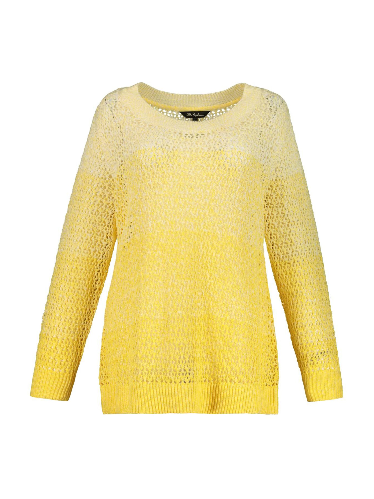 Ulla Popken Megztinis geltona / šviesiai geltona