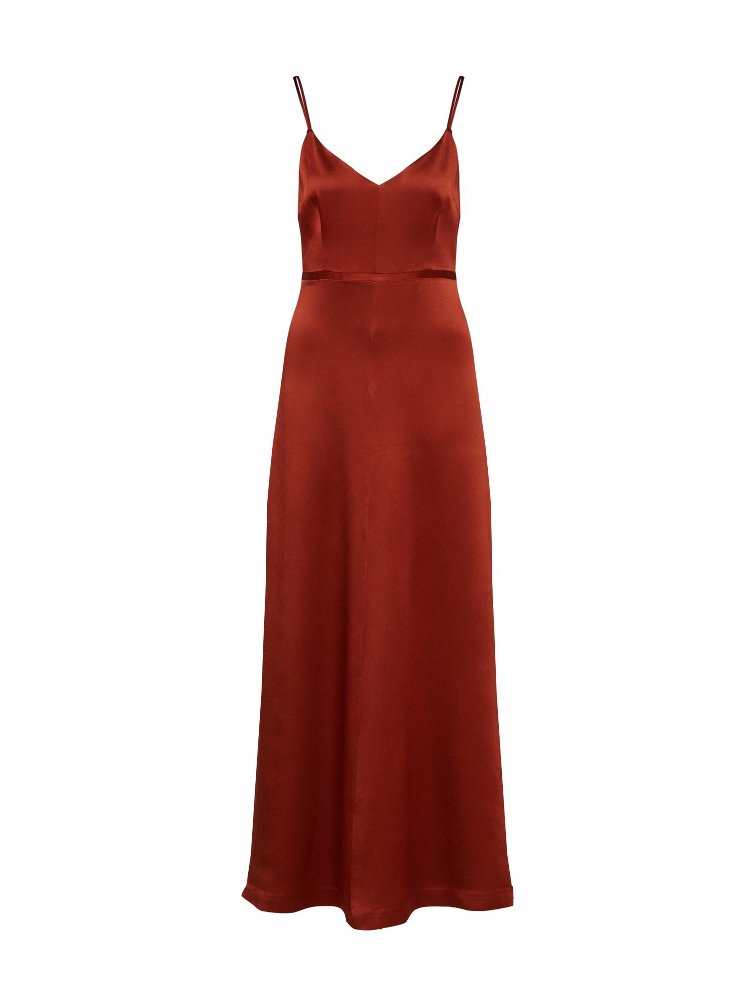 IVY & OAK Vakarinė suknelė rūdžių raudona