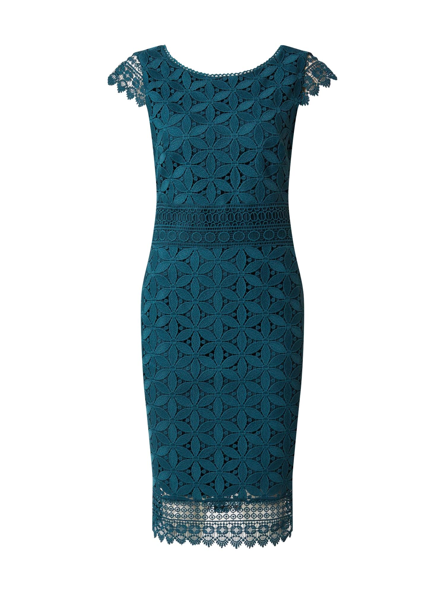 s.Oliver BLACK LABEL Kokteilové šaty  smaragdová